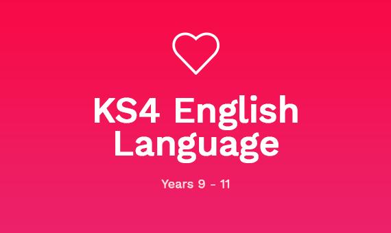 KS4 English Language